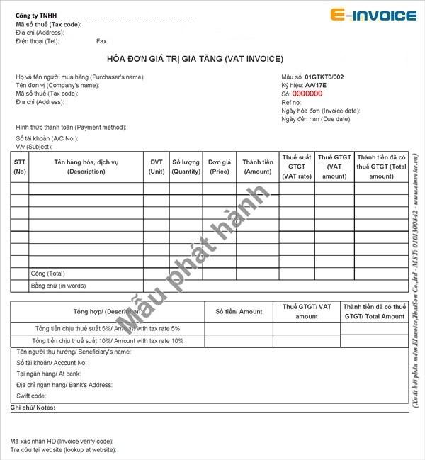 Những quy định về ký hiệu và tiêu thức trên hóa đơn điện tử doanh nghiệp cần lưu ý