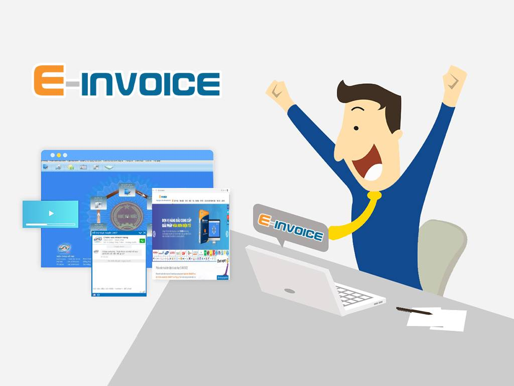 Thông báo phát hành hóa đơn điện tử qua mạng ngay để sử dụng E-invoice mọi lúc mọi nơi